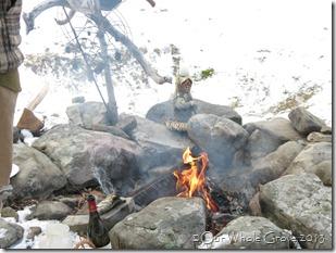 Bridget fire flares