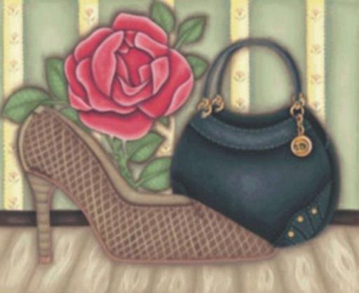 sapato com bolsa