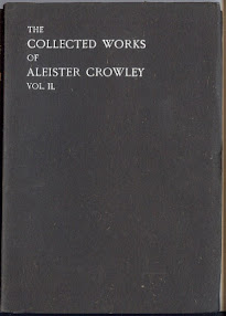 Cover of Aleister Crowley's Book The Works Of Aleister Crowley Vol Ii Part 1