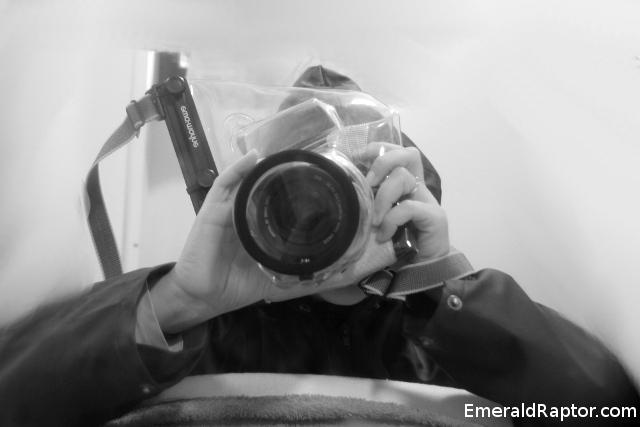Undervannspose til kamera