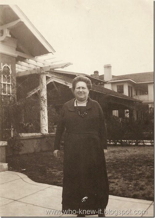 Goldie Benas 1922