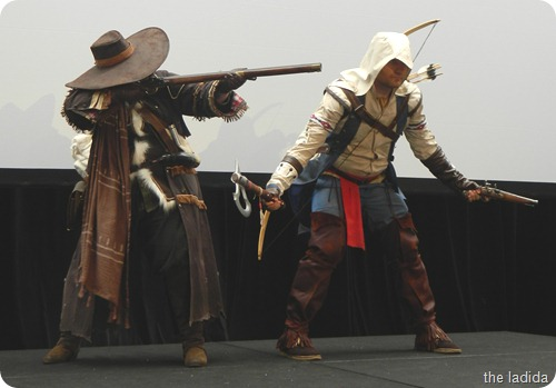 EB Expo Just 'Cos Cosplay Competition - Connor and Sharpshotter from Assassin's Creed 3 (1)