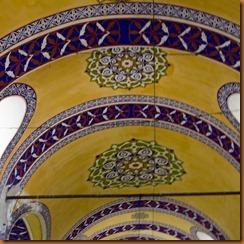 Istanbul, bazaar ceiling