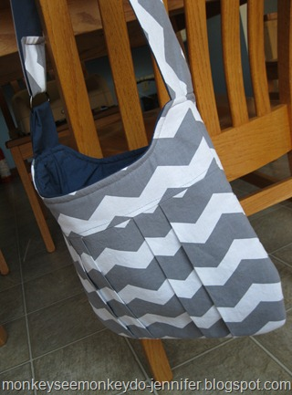 chevron gray and yellow bags (10)