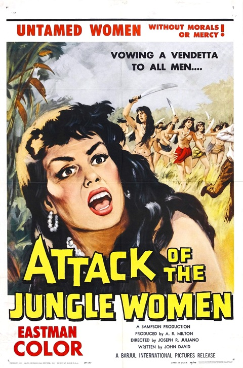 Attack Of The Jungle Women 01