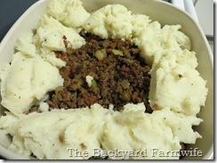 WWII shepherd's pie - The Backyard Farmwife