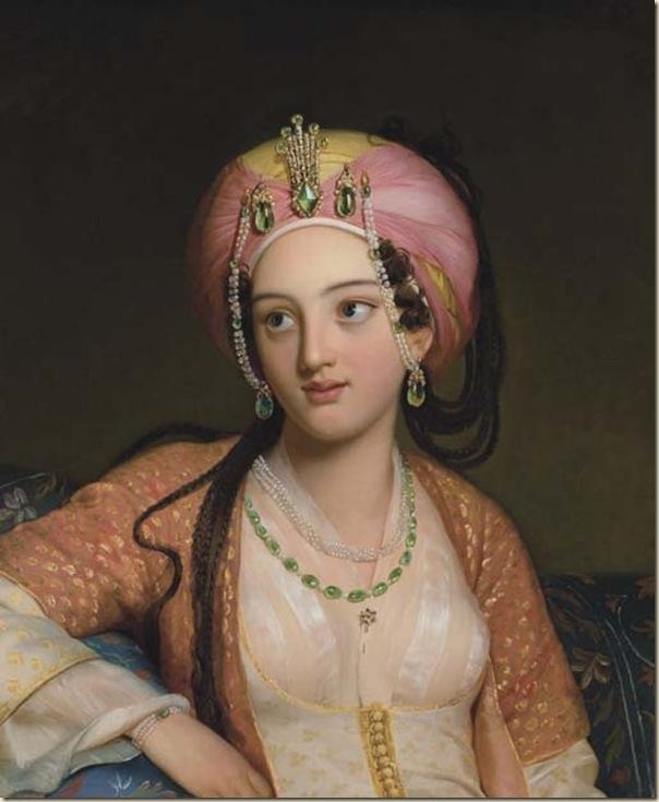 Eugène François Marie Joseph Devéria, Roxane