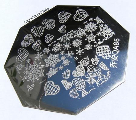 Stamping plate QA86