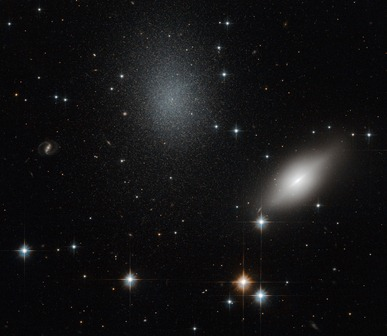 galáxias NGC 5011B e NGC 5011C