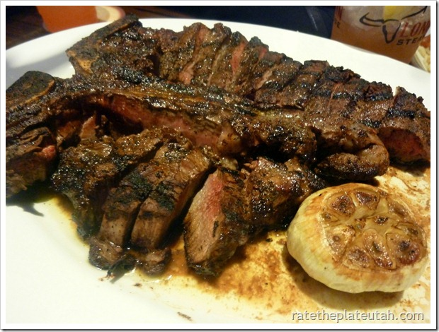 LongHorn Steakhouse Porterhouse for 2