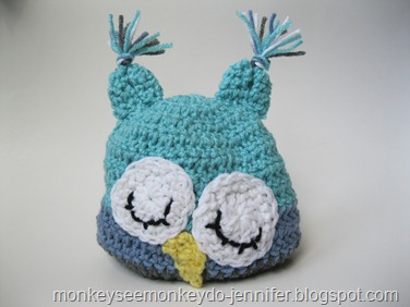 owl hat pastel