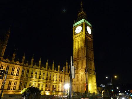 Obiective turistice Londra: la ceasul Big Ben