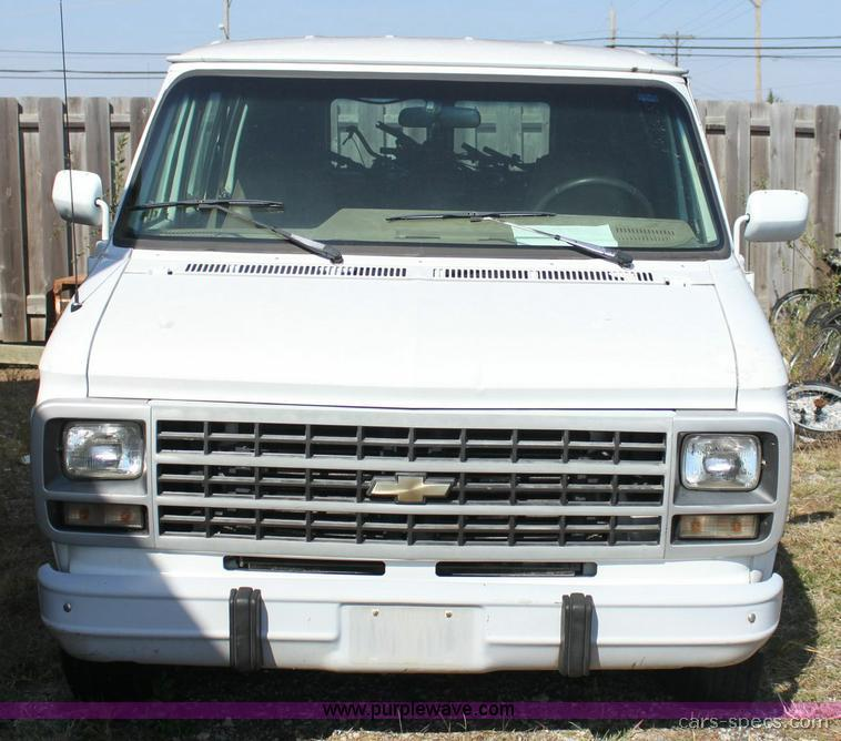1995 Chevrolet Sportvan Van Specifications, Pictures, Prices