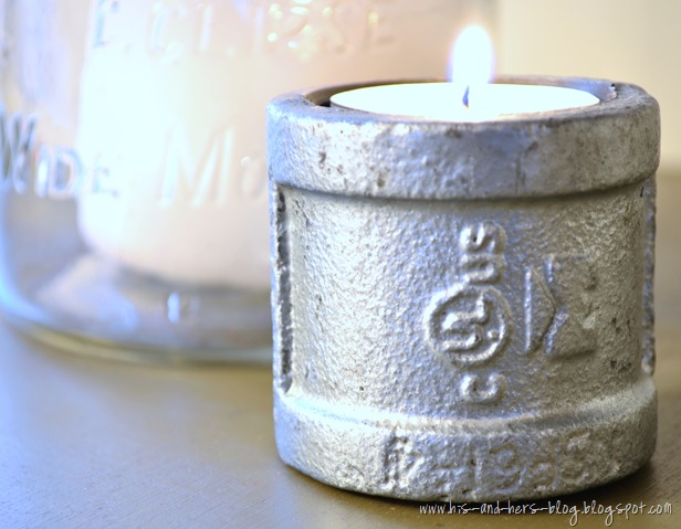 industrial tealight holder