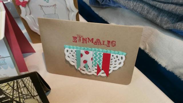Stampin up Wortkunst, Stempeln, Handgemachte Grußkarte, Handgestempelte Grußkarte