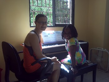 First piano lesson