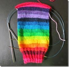 Rainbow Sock 1 - Leg