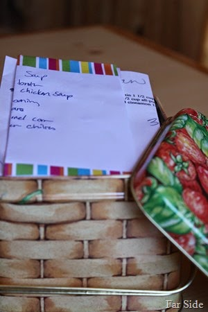 Straberry box of fav recipes