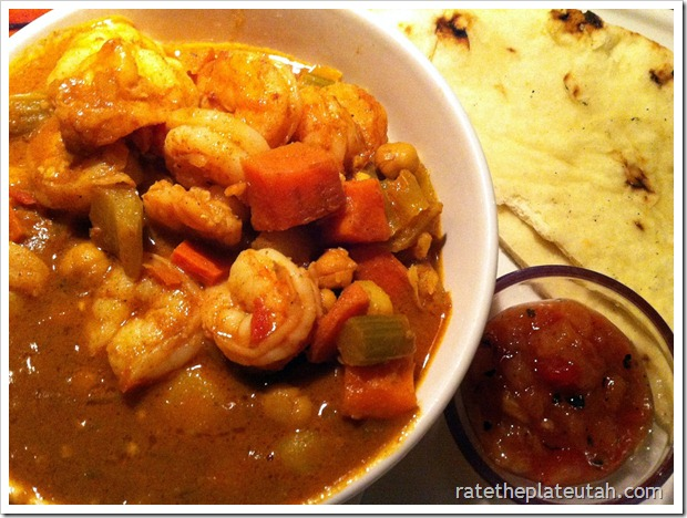 Bahama Breeze Curry Shrimp Rice Bowl