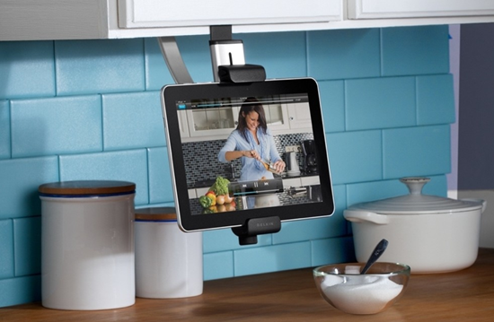 IPad holder for the kitchen