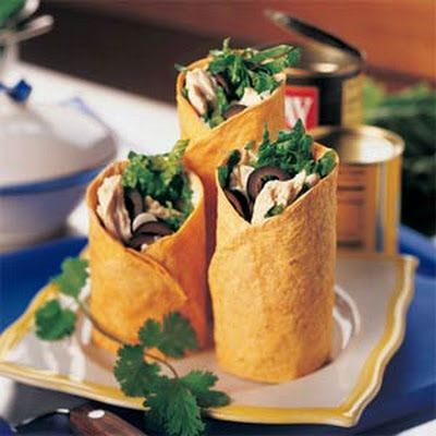 Chili Turkey Wraps