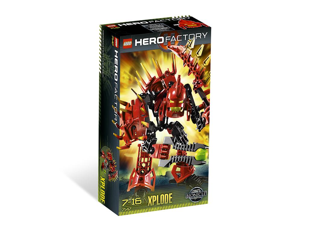 lego hero factory xplode instructions