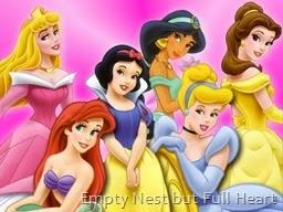 Diz-a-nee princesses
