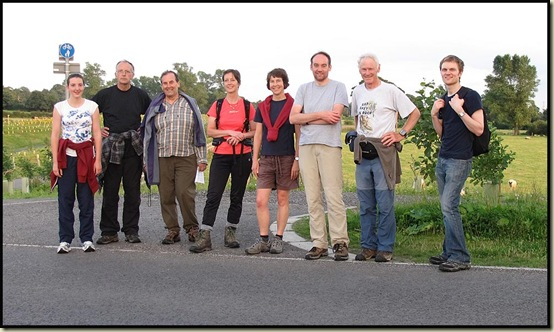 Walkers beside the Alderley Edge By-Pass