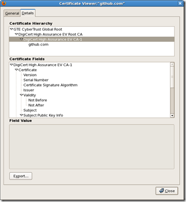 Screenshot-Certificate Viewer%3A%22github.com%22