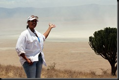 October 21, 2012 Barbara above Ngoro Crater