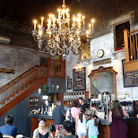 Balzac's coffee shop in the Distillery District, Toronto in Toronto, Ontario, Canada
