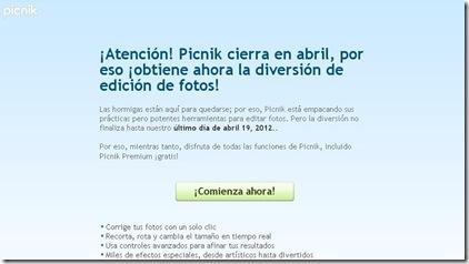 picnik en español gratis