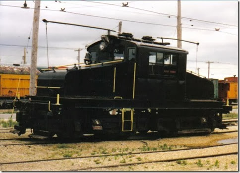 Commonwealth Edison Steeplecab #4 at the Illinois Railway Museum on May 23, 2004