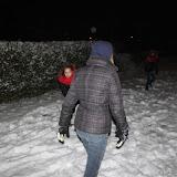 Gipsmaskers maken deel 2 en sneeuw