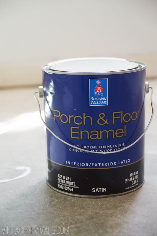 how to clean up latex paint from concrete