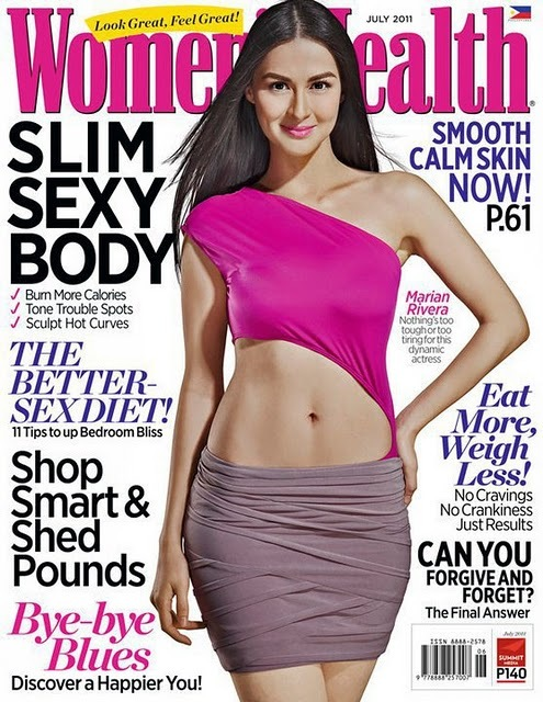 Marian Rivera on Women's Health July 2011