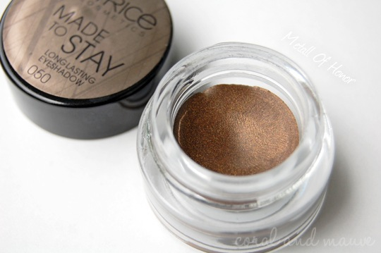 Catrice Modern MUSE LE Metall Of Honor Longlasting Eyeshadow