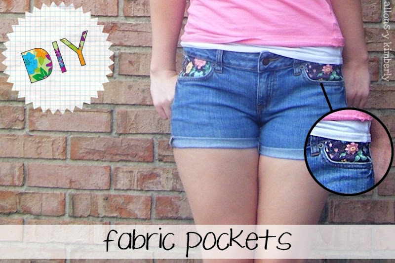 Fabric Pockets | allonsykimberly.com