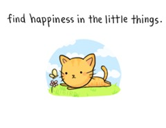 find-happiness-in-the-little-things-smile-quote
