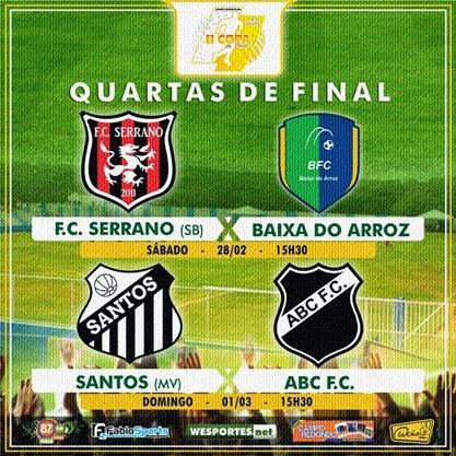 QUARTAS DE FINAL I - Copa do Povo 2014-2015 - CAMPO REDONDO - 28 E 01 - WESPORTES - FABIOSPORTS - FMVALEDASSERRAS - PORTAL