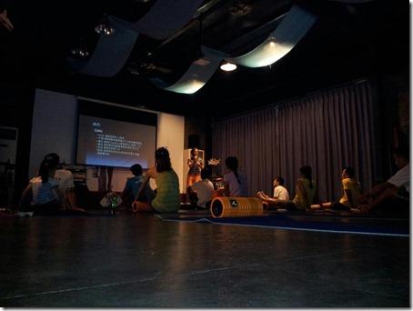 2012.09.08 Coral Ko的Foam Roller教學