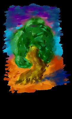 Психоделичное дерево