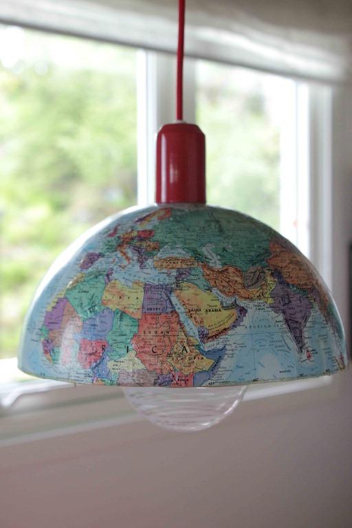 Globuslampe hel