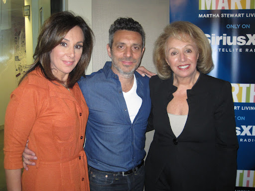 Rosanna Scotto, co-host of FOX 5's Good Day New York, John DeLucie, and Marion Scotto, owner of Fresco by Scotto