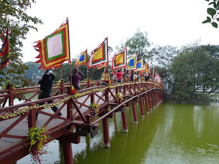 Obiective turistice Vietnam: Templu Vietnamez in Hanoi