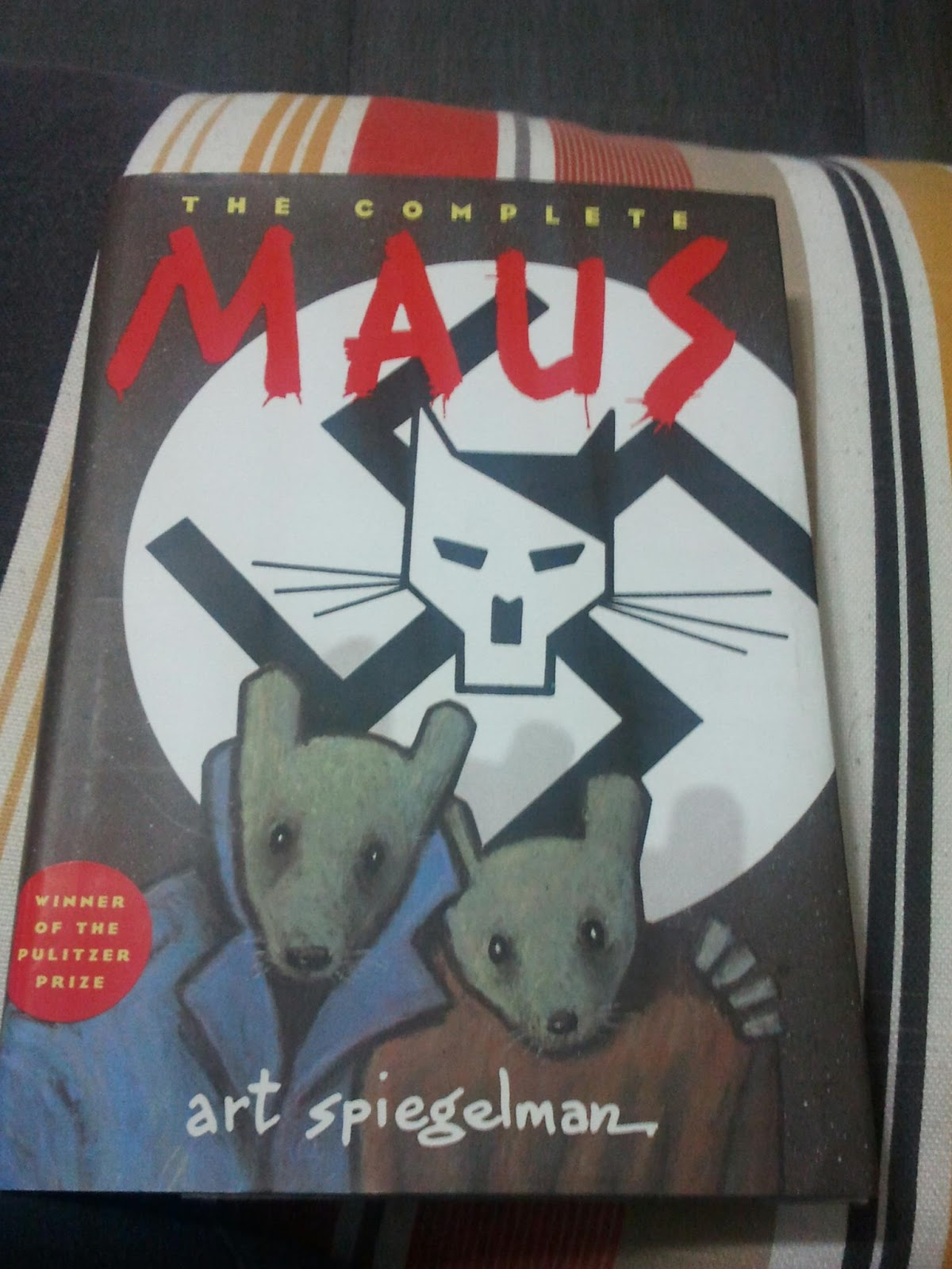 i choose maus by art spiegleman Maus i: a survivor's tale: my father bleeds history by art spiegelman the first installment of the pulitzer prize-winning graphic novel acclaimed as the most affecting and successful narrative ever done about the holocaust ( wall street journal ) and the first masterpiece in comic book history ( the new yorker .