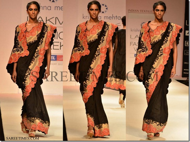 Krishna_Mehta_Black_Saree