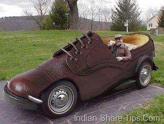 shoe car