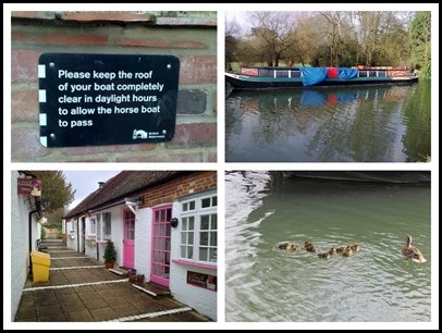1 Horse boat and Kintbury