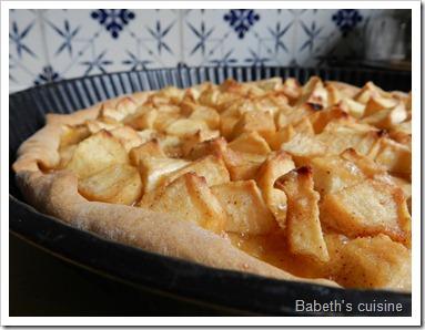 tarte pommes cassonade3
